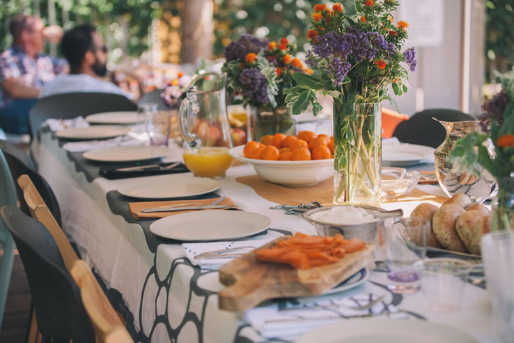 Delicieux Huddleson Fall Brunch Los Angeles Linen Tablecloth Napkin 2