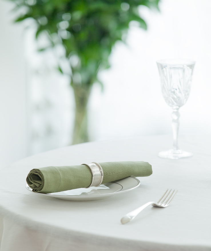 Sage green table linens pure linen napkin