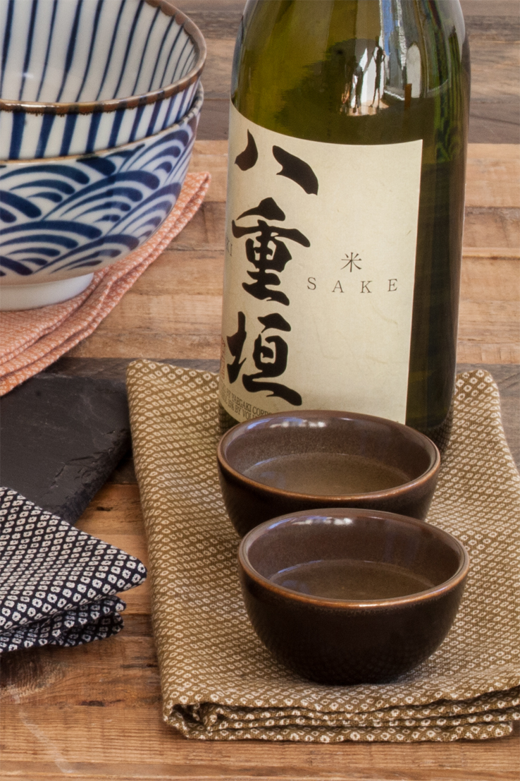 Olive green table linens shibori Japanese cotton napkin