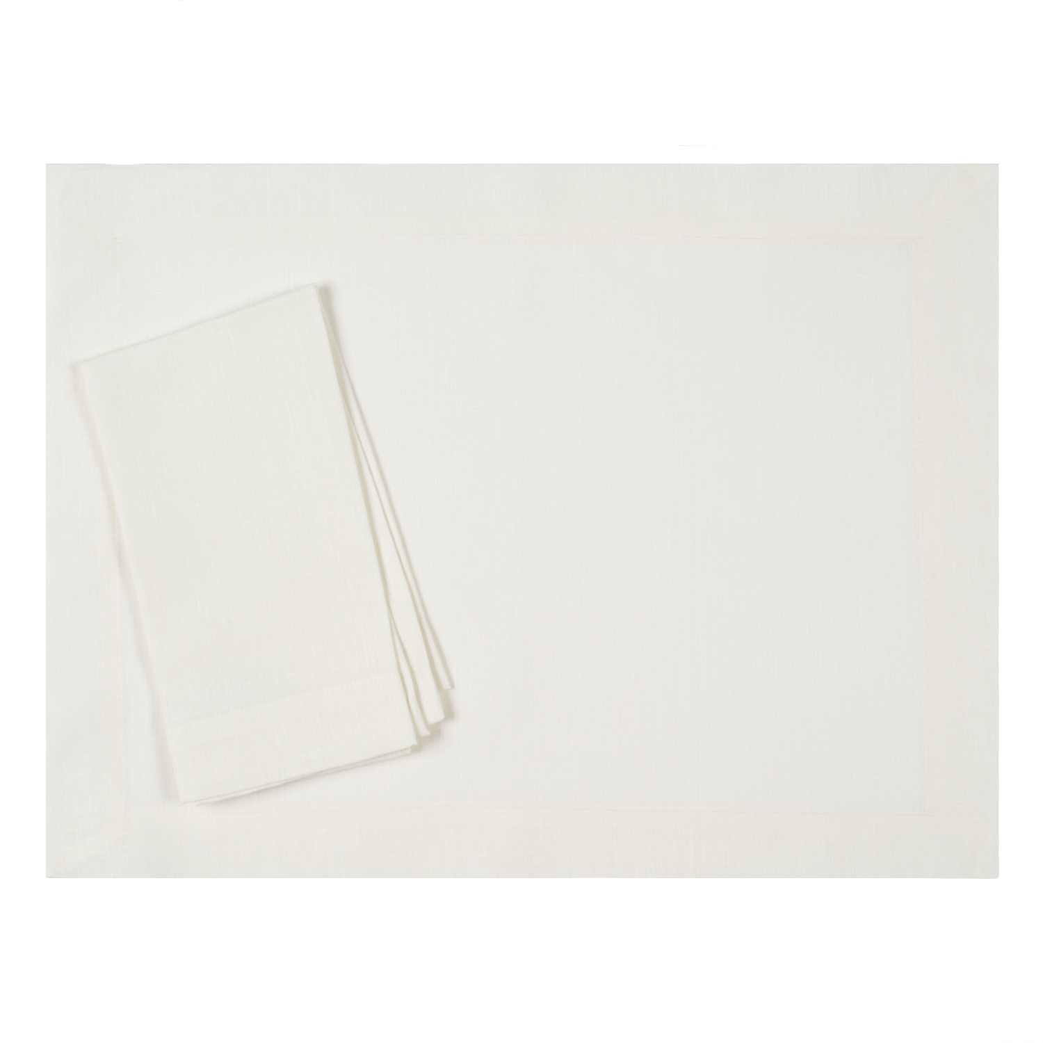 Ivory-pure-linen-placemat-napkin