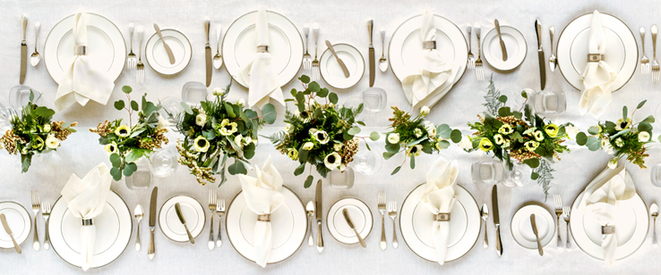 Ivory Pure Linen Tablecloth Dinner Party Wedding Napkins