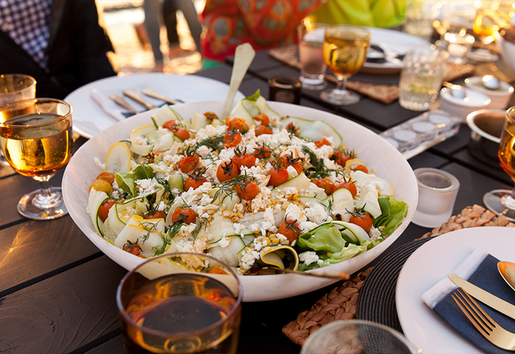 Michigan-beach-dinner-party-salad-Summer-menu