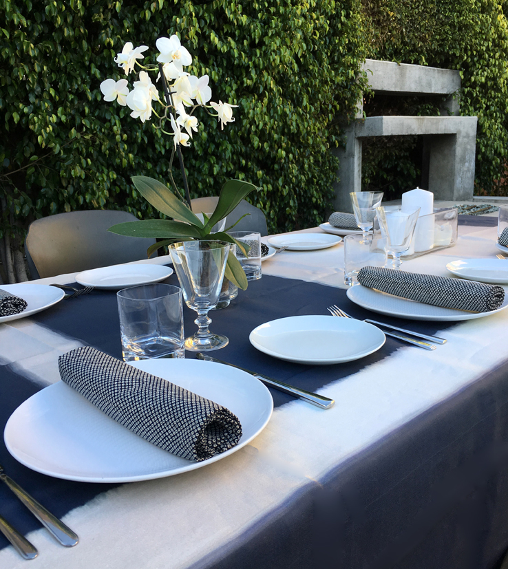 Spring dinner party los angeles inspiration table setting