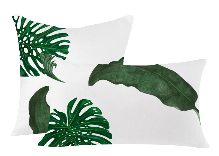 http://www.huddlesonlinens.com/shop/decorative-linen-throw-pillows/tropical-leaves-linen-pillow