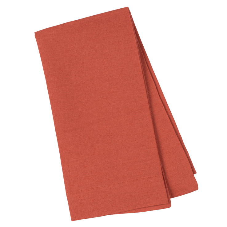 Lobster orange napkin linen gifts