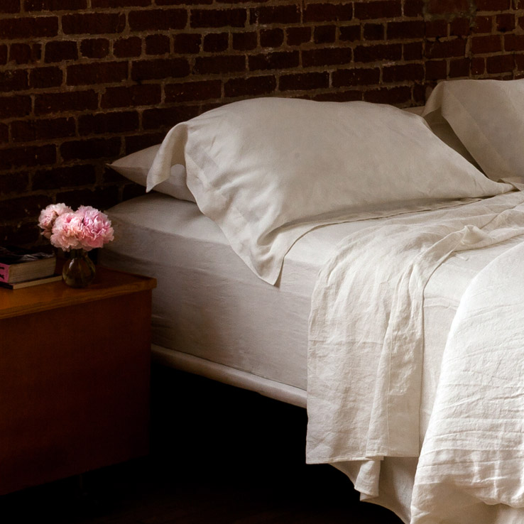 why linen Ivory pure linen sheets are so comfortable