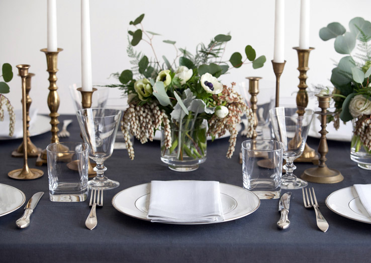 why linen tablecloths are effortlessly sophisticated and durable