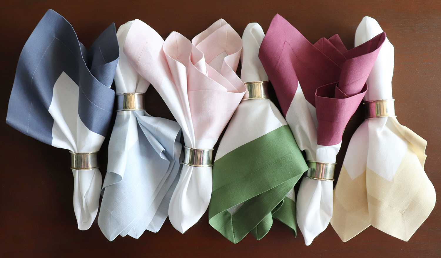 20 Napkins A Touch of Nothing-Delicate Leaves Natural White Green Spring Summer